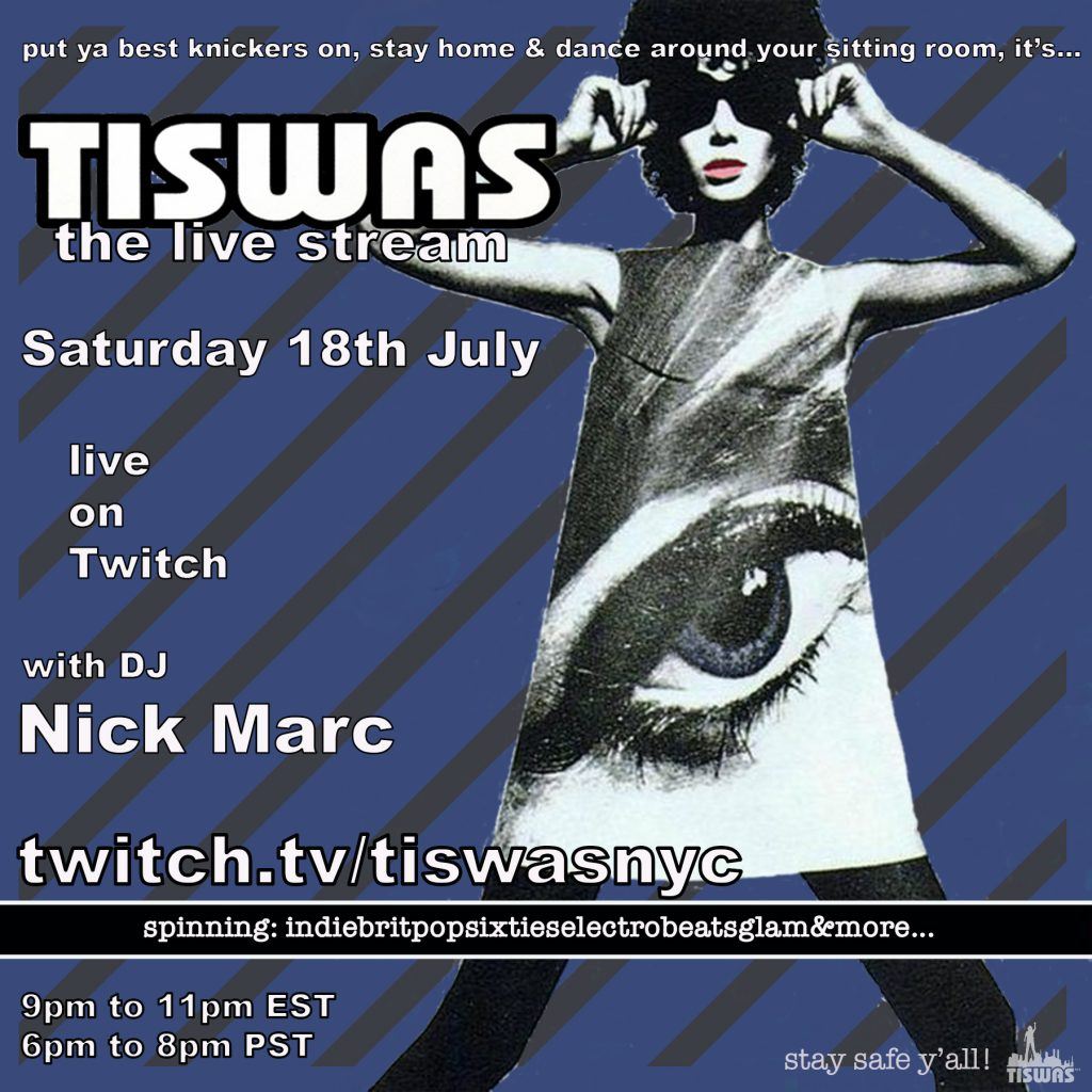 TISWAS live stream 7-18 flyer
