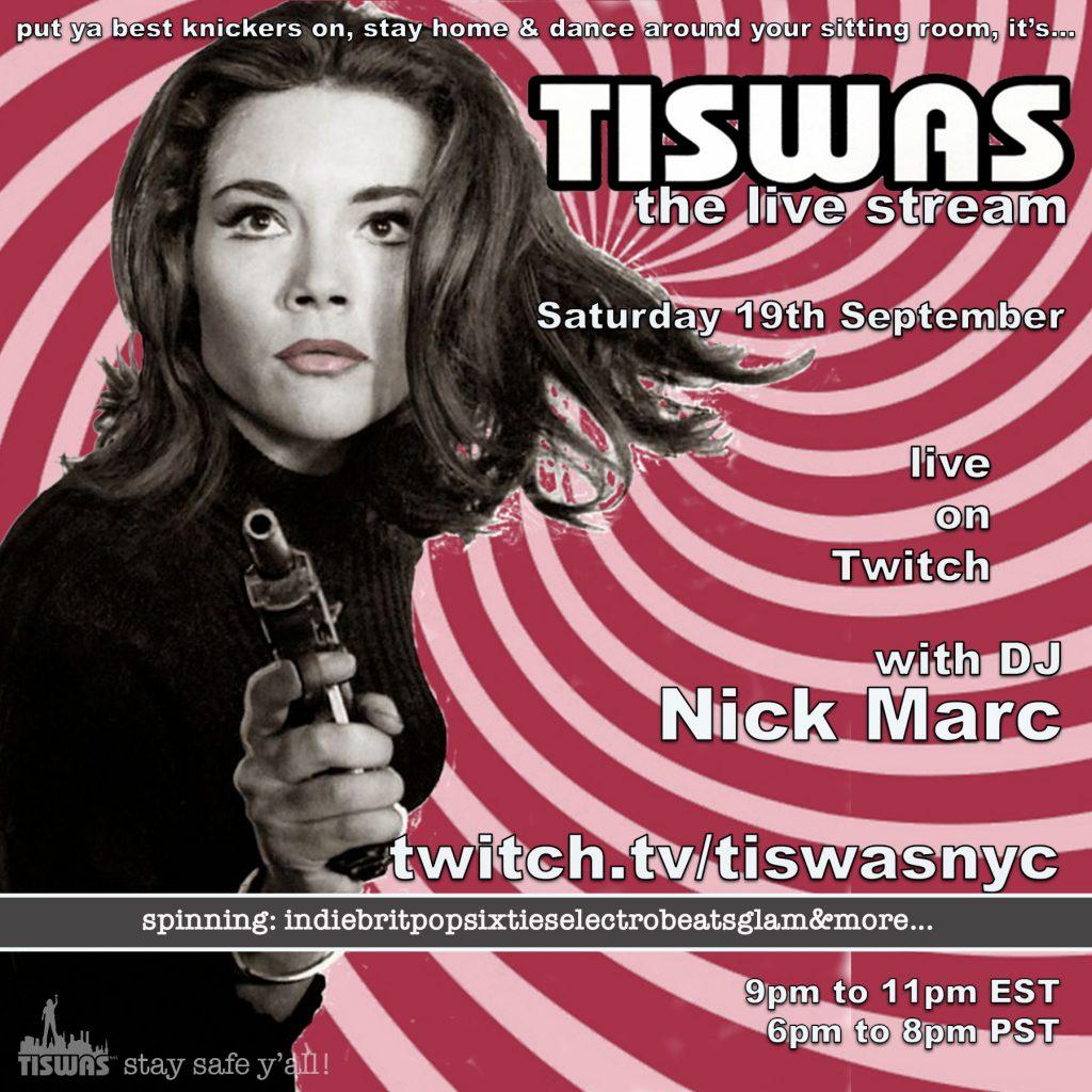 TISWAS live stream 9-19 flyer